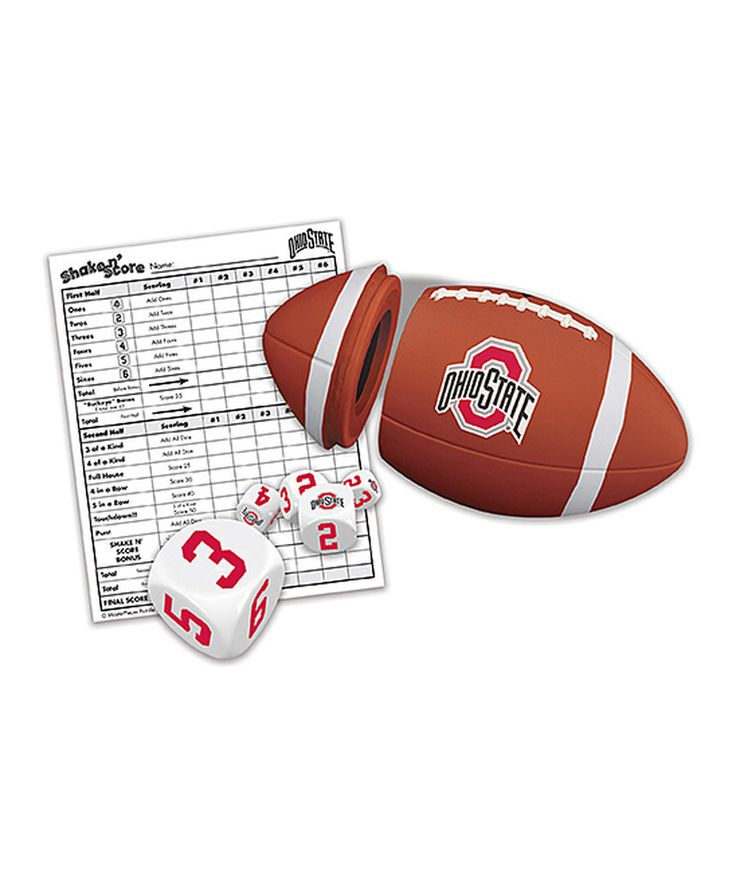 Look at this Ohio State Buckeyes Shake 'n' Score Dice Game on #zulily today!