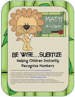 Math Coach's Corner: It's Time to Subitize!: Math Stuff, Classroom Math, Kindergarten Math, Math Coach, Math Ideas, Coach Corner, Card, Classroom Ideas, Math Skills