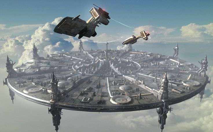 Fantasy Space Stations - Pics about space