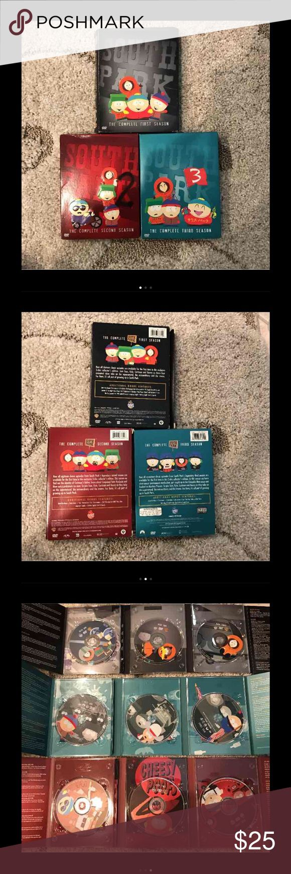 South Park Seasons 1-3 DVDs Seasons 1-3 Other