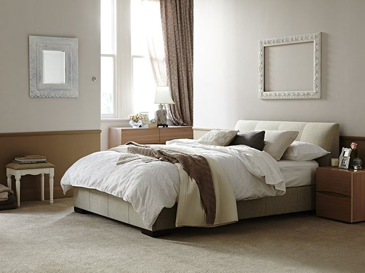Kenton Queen Bed Frame  Oatmeal  main product image 1 699. 28 best Master bedroom suite images on Pinterest   Master bedrooms
