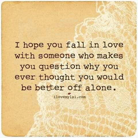 Words of wisdom in love