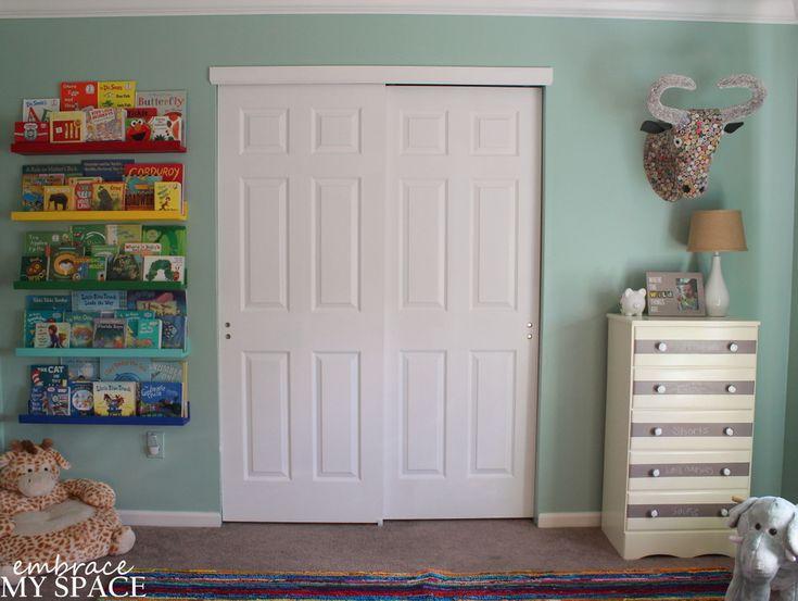 Project Nursery - 06-Rainbow Book Ledge 5