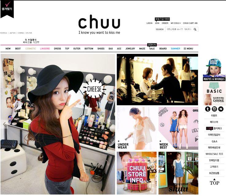 Korean fashion online shopping CHUU