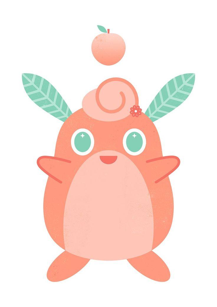 Peach puff wigglytuff pokemon peach puff pikachu
