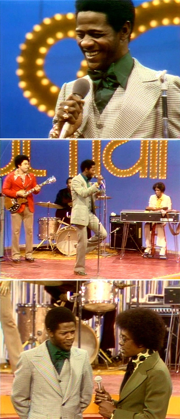 "Al Green performs ""Love and Happiness"" on Soul Train, February 17, 1973"
