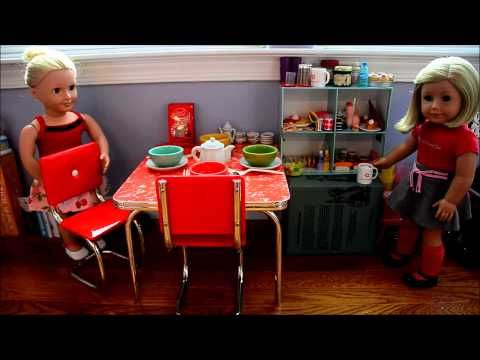 images about american girl doll house tours on Pinterest