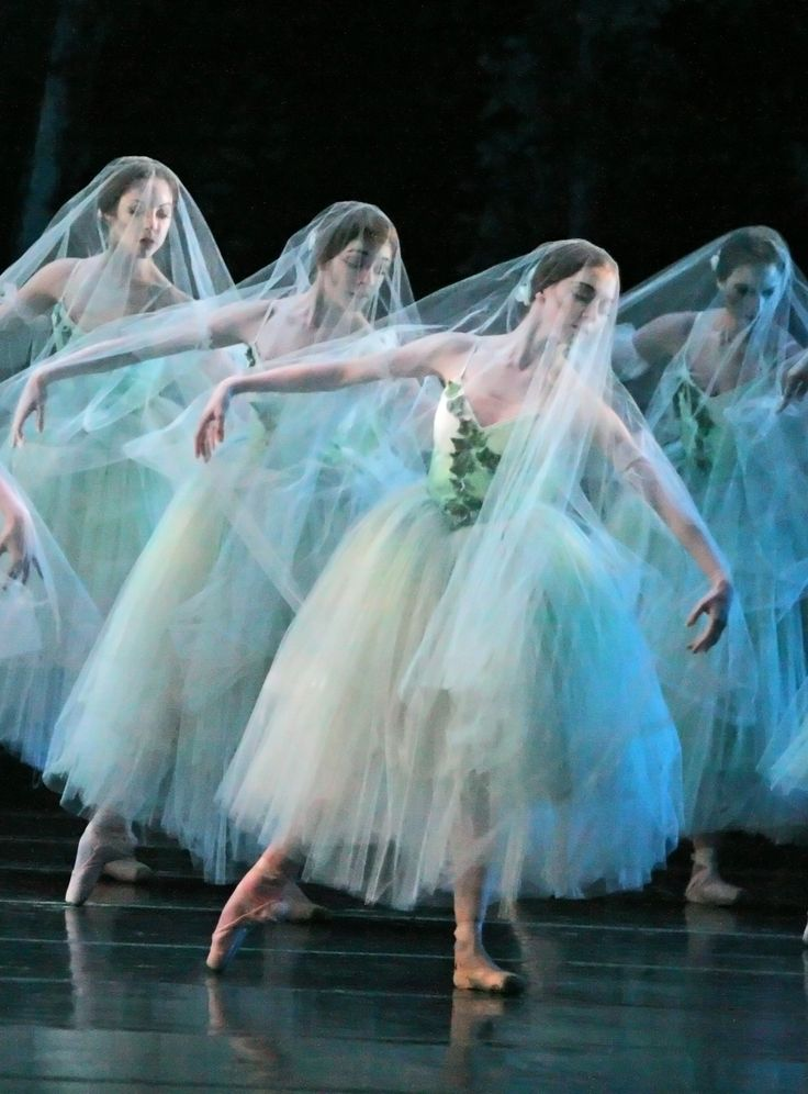 "Houston Ballet performing ""Giselle"" - My all time favorite ballet and my ballet teacher used to dance for Houston Ballet! :D"