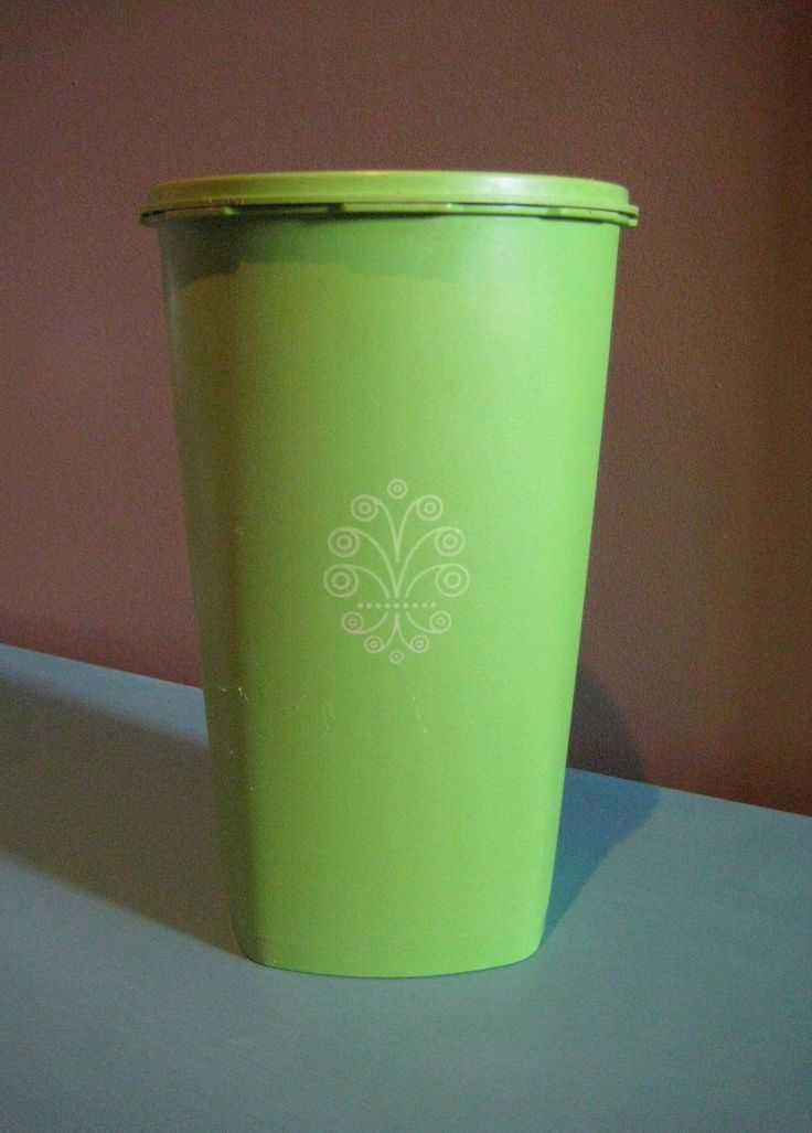 Tupperware Retro Canister,1970's lime green Canister,Retro Stacking Vintage Tupperware Canister with Lid at Designs By Willowcreek on Etsy by DesignsByWillowcreek on Etsy