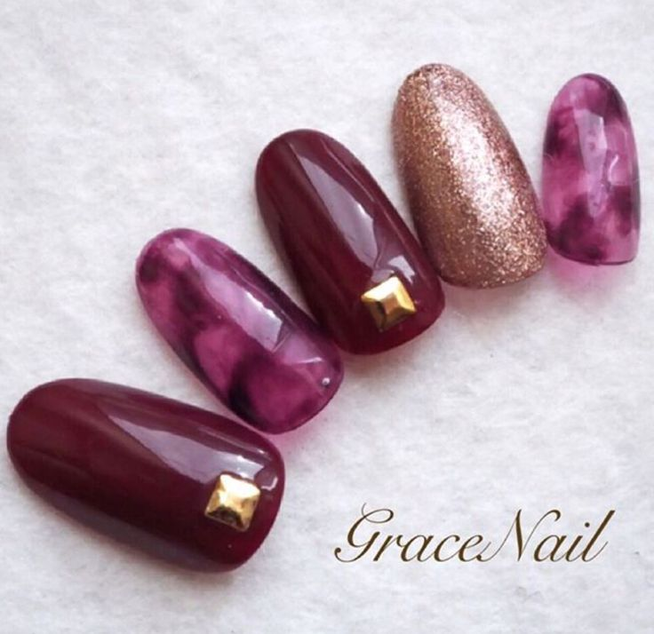 26 Impossible Japanese Nail Art Designs: 17 Best Ideas About Purple Nails On Pinterest