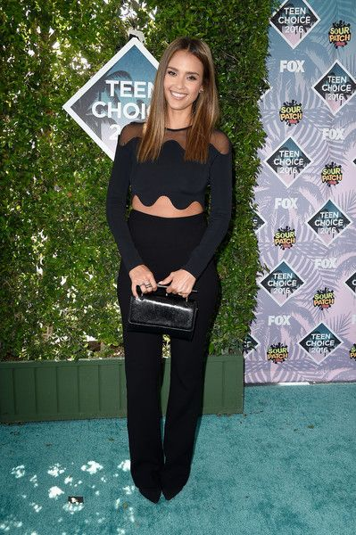 Actress Jessica Alba attends the Teen Choice Awards 2016 at The Forum on July 31, 2016 in Inglewood, California.
