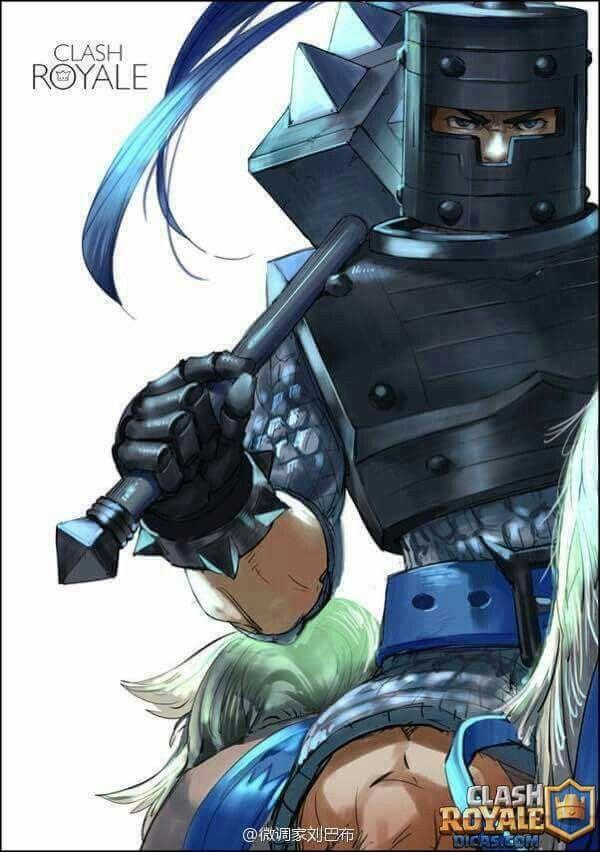 Príncipe das Trevas-Clash Royale
