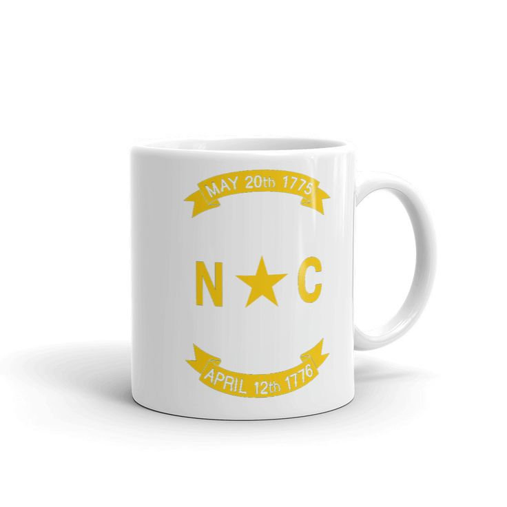 North Carolina Flag Mug