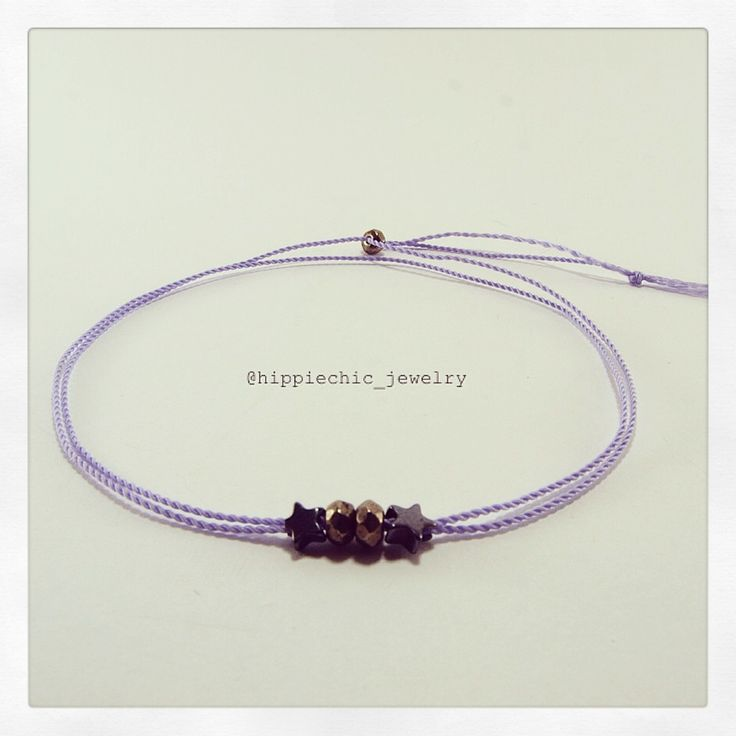 hematite stars & pyrite beads  #minimal #bracelet - chose your thread colour!!!!!!!