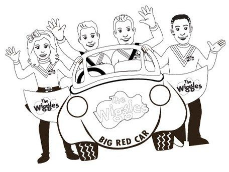 Perfect Wiggles Coloring Sheet For Little Kids 4 Yers And Up