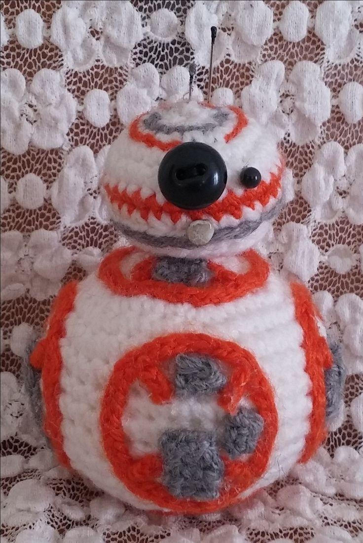 BB-8. Amigurumi. Uncinetto. Crochet.