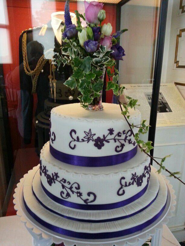Purple on white, no room for error....