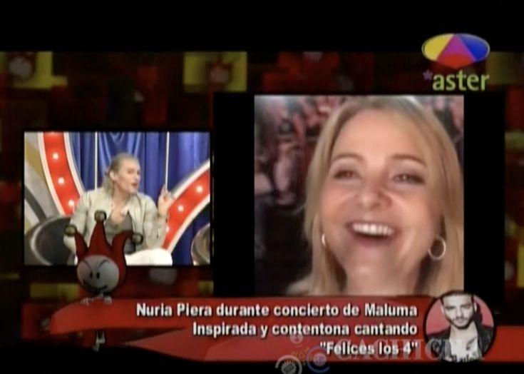 Los Cirqueros Hablan Del Video De Nuria Cantando Y Bailando Felices Los 4 En El Concierto De Maluma