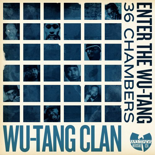 Logan Walters:  Classic Wu-Tang cover, redesigned with a vague Blue Note Records aesthetic. Featured in the New York Times, New York Magazine, the FontFeed, Kottke.org, and more.