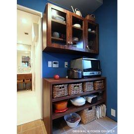 790 木枠の先にあるものの部屋 キッチンカウンター