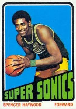 NBA 1970'S Spencer Haywood
