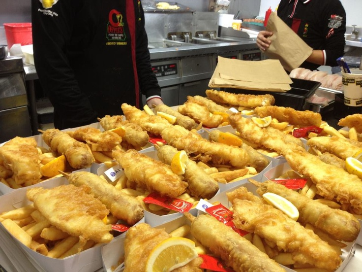 Enough Fish & Chips for Everyone! Oppies Fish & Chips Rotorua - www.oppies.co.nz