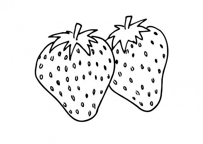 Dibujos para pintar en tela frutas | Fresas | Dibujos para ...