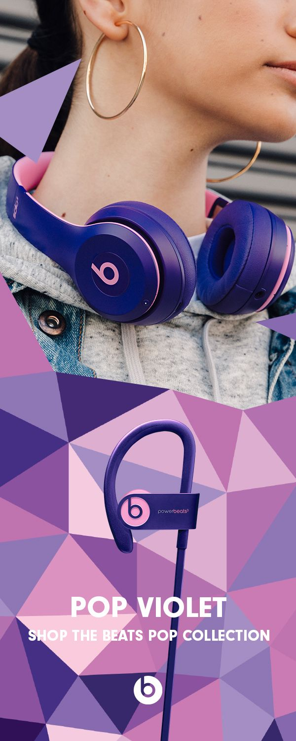 969e6738596 Shop the Beats Pop Collection. Upgrade your style this summer with bright  and colorful Beats Solo3 Wireless headphones and Powerbeats3 Wireless  earphones in ...