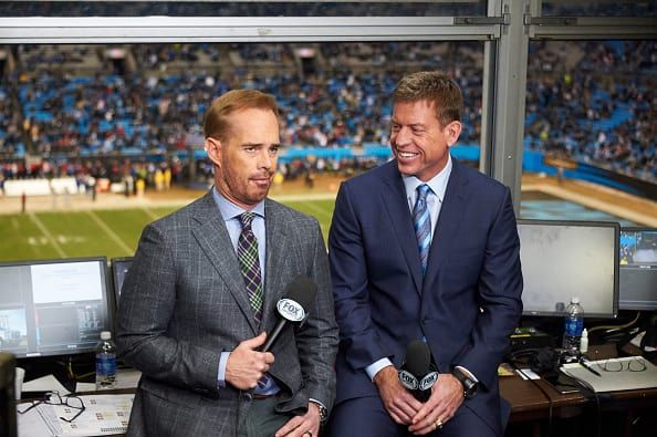 Sorry, but the NFL on Fox isn't going to ban their No. 1 broadcasting duo of Joe Buck and Troy Aikman from covering Sunday's Packers/Cowboys game.