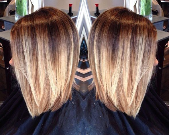 Soft Ombre Hairbrained Hairstylist Hairimage Haircolor