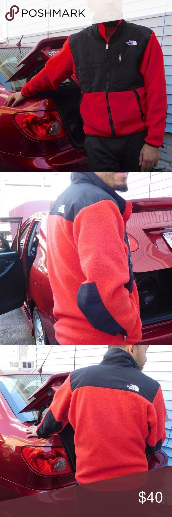 Red North face Denali Fleece Jacket XS Used men's The North Face Fleece jacket. Has minor pilling on inside. Great overall condition! North Face Jackets & Coats