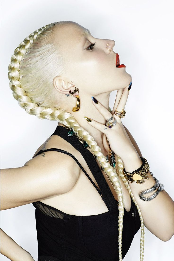 LBW loves: Plaits are hot right now so get experimenting! #HairInspo