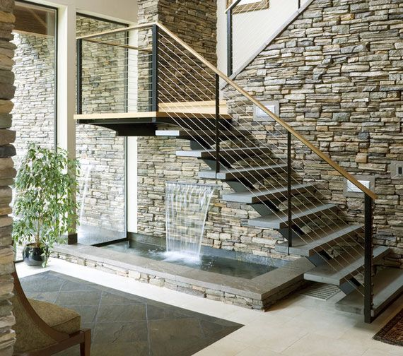 48 best escaleras images on pinterest interior stairs - Escaleras de casas ...