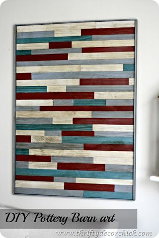 DIY pottery barn wood art: Wall Art, Wood Art, Diy Wood, Barn Knock, Wood Wall, Pottery Barn, Craft Ideas, Diy Pottery, Barn Wood