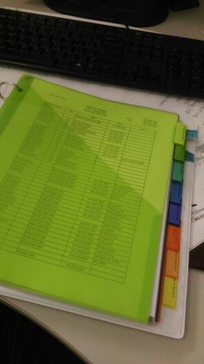 Make a binder with the important things you do at work. Super helpful if you're ever out of the office or you need to train a new person to take over your job.  http://www.iaap-hq.org/publications/officepro/administrative-procedures-office-survival
