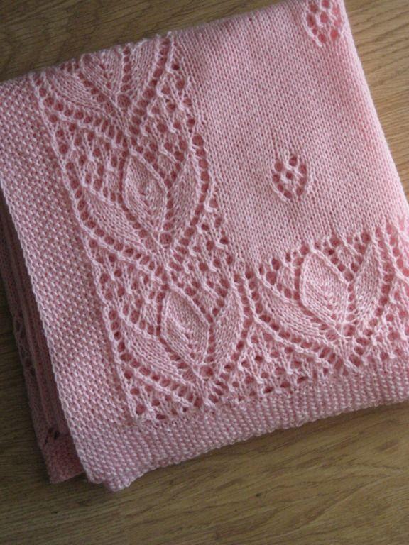 Afbeeldingsresultaat voor tulip lace knitting pattern