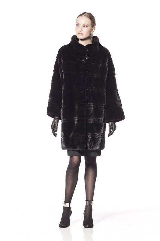 Braschi Blackglama Mink Fur Coat