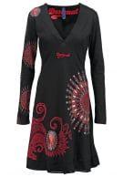 Desigual OLGA  Jerseyklänning negro