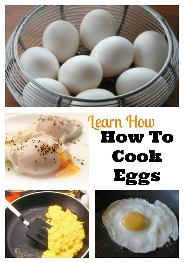 Learn How To Cook Eggs - Lessons for scrambled, poached, boiled, fried and all different ways to cook eggs!