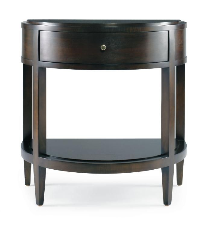 Traditional bedside table TRIBECA : 33H-225 CENTURY FURNITURE