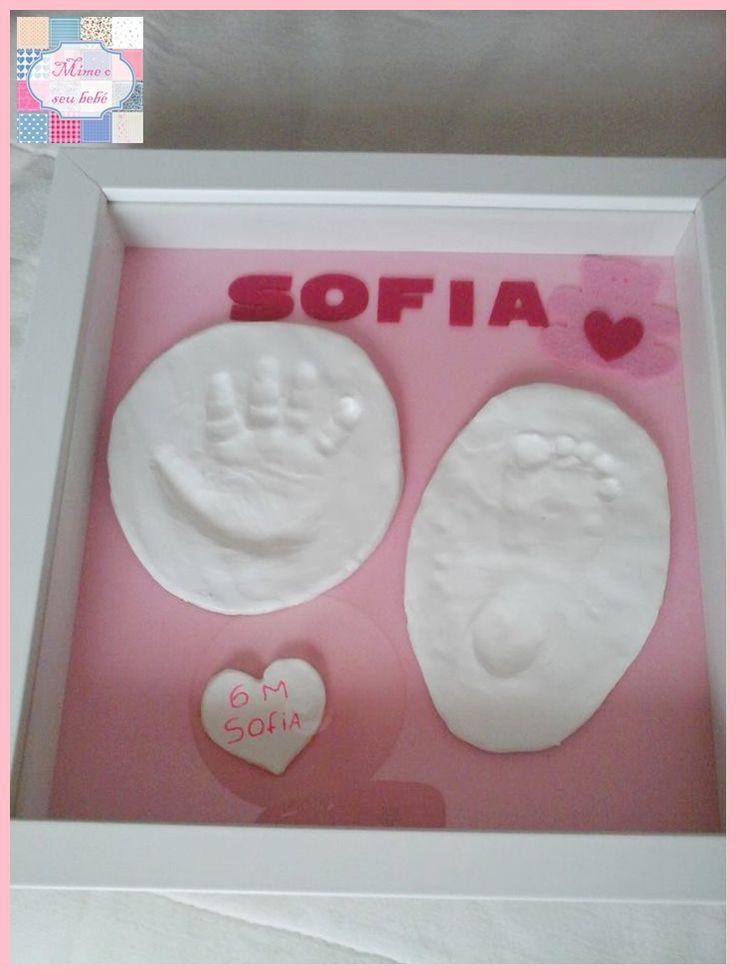 Kit baby modelgem - Um presente lindo para qualquer idade <3   Kit onde os Papás da princesa Sofia colocaram o molde da sua mãozinha e do pézinho ^_^.  Obrigada mamã pela partilha <3  Papás peçam já o vosso e divirtam-se com o vosso bebé.   Vejam o video: https://www.youtube.com/watch?v=ENgpNJkm7nI  +INFO: mimeoseubebe@gmail.com ou mensagem privada no FB  #mimeoseubebe #recordaçõesunicas #decoração #Deusémaravilhso