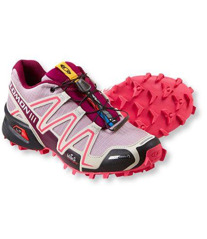 womens salomon shoes black
