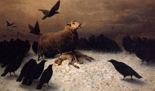 August Friedrich Schenck (German, 1828 - 1901) - Angustia.