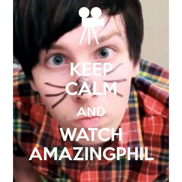 Amazingphil Phil Lester YouTube Dan Phil <3 ❤ liked on Polyvore featuring youtube, dan and phil and people