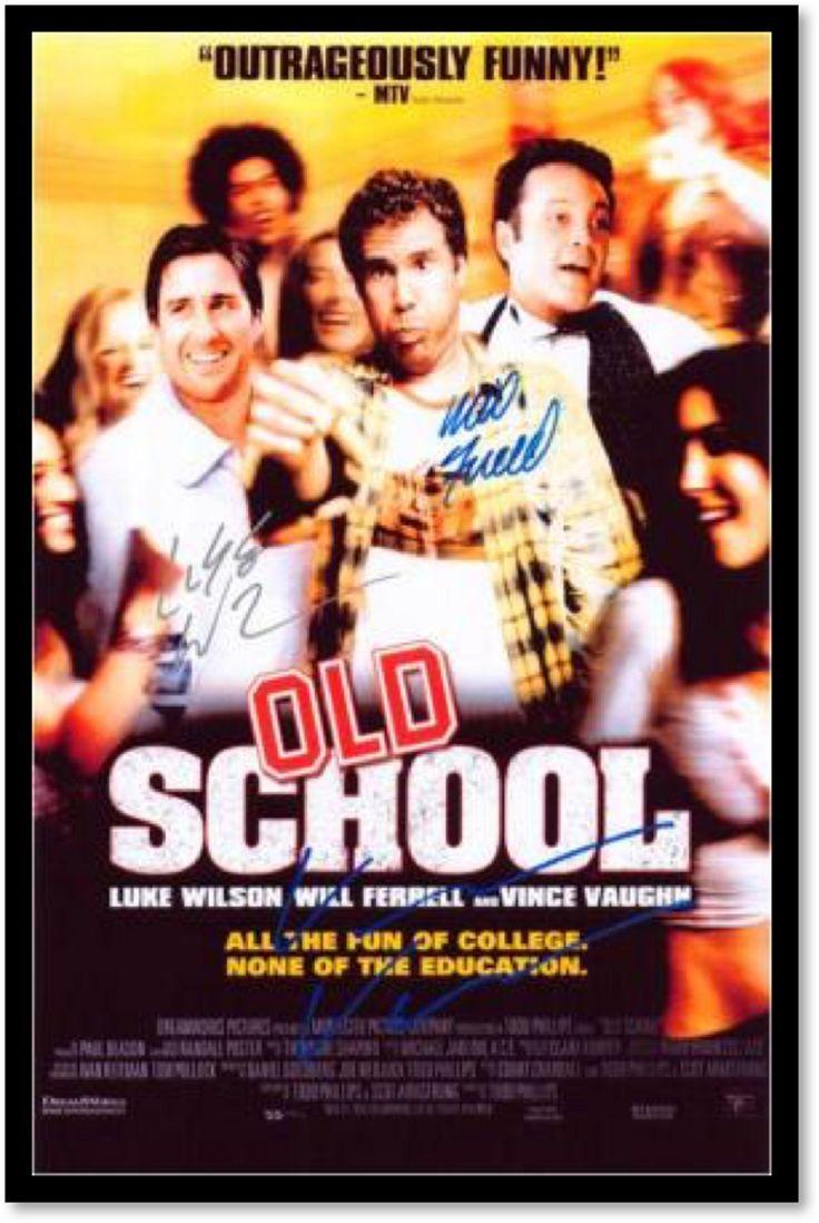 Old School - Signed by Cast - Custom Framed Signed Movie Poster