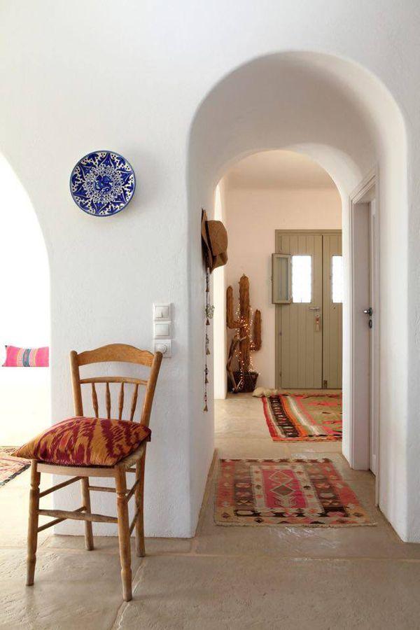 interieur maison grecque. Black Bedroom Furniture Sets. Home Design Ideas