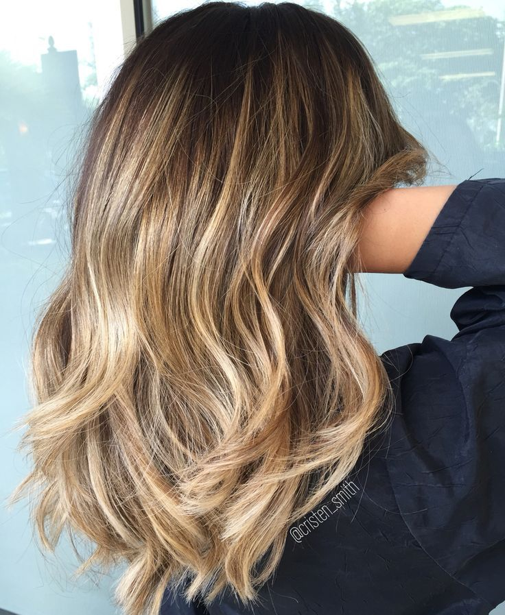 Image result for brown to blonde balayage