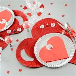 Hjärta servetter - 55,50 SEK