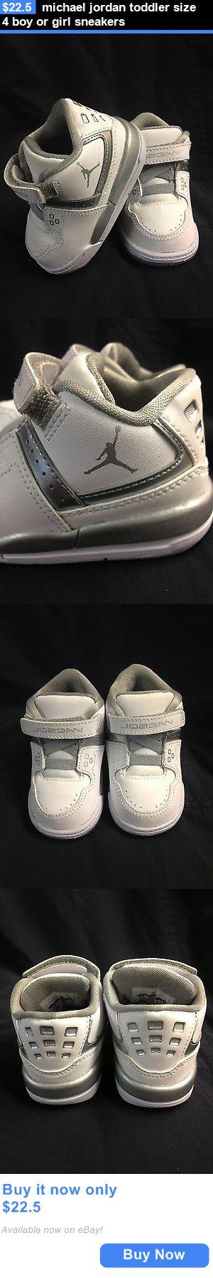 Michael Jordan Baby Clothing: Michael Jordan Toddler Size 4 Boy Or Girl Sneakers BUY IT NOW ONLY: $22.5