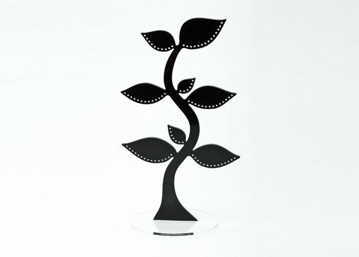 By Gabay Smykketræ - Tinga Tango Designbutik. Interiørbutik - Interior - Children - Børn - Toys - Legetøj - Brugskunst - Design - Kunst - Webshop - Billig fragt - illustrationer - porcelæn - keramik - Black - Sort